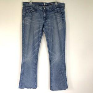 7FAM Rocker Jeans Sz 32